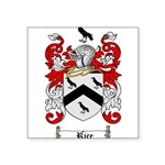 Rice Coat of Arms Square Sticker 3