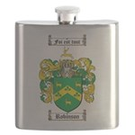 Robinson Coat of Arms Flask