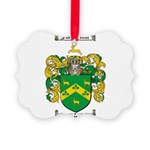 Robinson Coat of Arms Picture Ornament