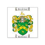 Robinson Coat of Arms Square Sticker 3