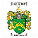 Robinson Coat of Arms Square Car Magnet 3