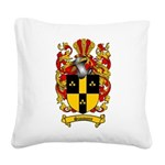 Simmons Coat of Arms Square Canvas Pillow