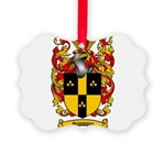 Simmons Coat of Arms Picture Ornament