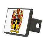 Simmons Coat of Arms Rectangular Hitch Cover