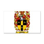 Simmons Coat of Arms Rectangle Car Magnet
