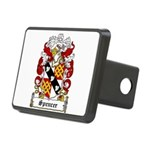 Spencer Coat of Arms Rectangular Hitch Cover