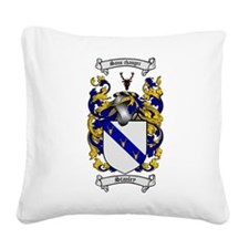 Stanley Coat of Arms Square Canvas Pillow