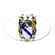 Stanley Coat of Arms Oval Car Magnet