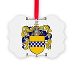 Stewart Coat of Arms Picture Ornament