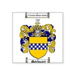 Stewart Coat of Arms Square Sticker 3
