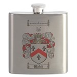 Walsh Coat of Arms Flask