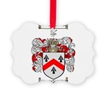 Walsh Coat of Arms Picture Ornament