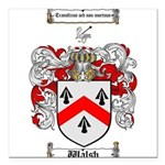 Walsh Coat of Arms Square Car Magnet 3