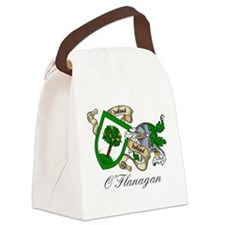 O'Flanagan Family Crest Canvas Lunch Bag