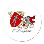 OLoughlin.jpg Round Car Magnet