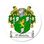 OMoledy-Irish-9.jpg Round Car Magnet