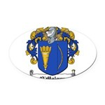 OMolony (Clare)-Irish-9.jpg Oval Car Magnet