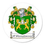 OShaughnessy-Irish-9.jpg Round Car Magnet
