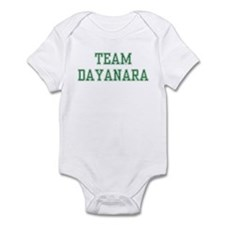 TEAM DAYANARA  Infant Bodysuit
