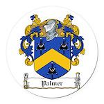 Palmer (Kings Co.jpg Round Car Magnet