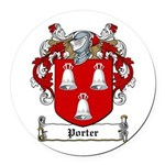 Porter (Meath-1622)-Irish-9.jpg Round Car Magnet