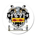 Rafferty-Irish-9.jpg Round Car Magnet