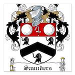 Saunders (Wexford)-Irish-9.jpg Square Car Magnet 3