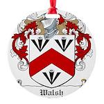 Walsh (Kilkenny)-Irish-9.jpg Round Ornament