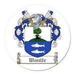 Woulfe-Irish-9.jpg Round Car Magnet
