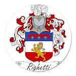 Ridolfi_Italian.jpg Round Car Magnet