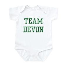 TEAM DEVON  Infant Bodysuit