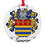 Severino_Italian.jpg Round Ornament