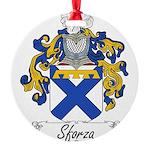 Sforza_Italian.jpg Round Ornament