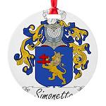 Simonetta_Italian.jpg Round Ornament