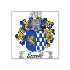 "Spinelli_Italian.jpg Square Sticker 3"" x 3"""