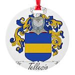 Tellesio_Italian.jpg Round Ornament