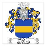 Tellesio_Italian.jpg Square Car Magnet 3