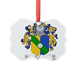 Tofani Family Crest Picture Ornament