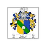 Tofani Family Crest Square Sticker 3
