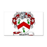 Warden Coat of Arms Rectangle Car Magnet