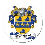 Whitehead-Scottish-9.jpg Round Car Magnet