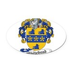 Whitehead-Scottish-9.jpg Oval Car Magnet