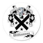 Williamson-Scottish-9.jpg Round Car Magnet