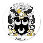 Aachen.jpg Round Car Magnet