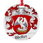 Weller_6.jpg Round Ornament
