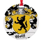 Wolff_6.jpg Round Ornament