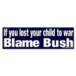 Lost Child Bush Bumper Sticker