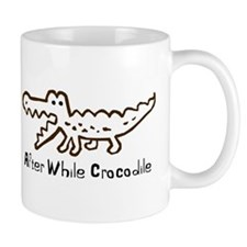Alligator and Crocodile Mug