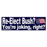 Re-Elect Bush Bumper Sticker