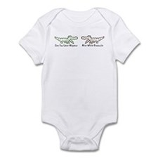 Alligator and Crocodile Infant Bodysuit